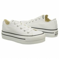 Athletics Converse Women's All Star Platform Ox White Shoes.com
