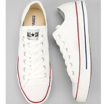 """Converse"" Fashion Canvas Flats Sneakers Sport Shoes White"