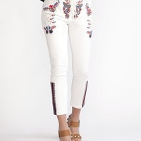 Cynthia Rowley - Embroidered Pant | New Arrivals
