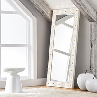 Marquee Light Floor Length Mirrors