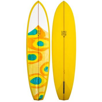 "Dead Kooks Speed Hull 7'6"" Surfboard"