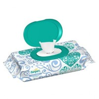 Pampers Baby Fresh Wipes 1x Travel Pack 72 Count  (Pack of 8)