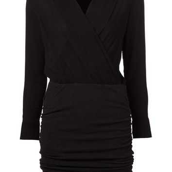 James Perse pleated jersey dress