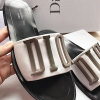 Dior Women Men Casual Shoes Boots fashionable casual leather Women Heels Sandal Shoes