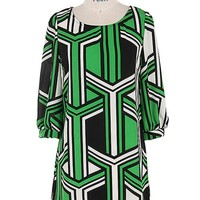 Geometric Print Dress/Tunic