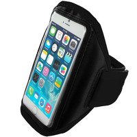 Black Running Sports Gym Armband for Apple iPhone 6 Plus 6S Plus (5.5)