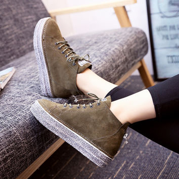 Low-cut Weathered Shoes [8865343052]
