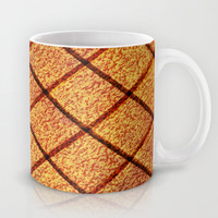 Wooden Texture Tile Mug by Maxvision