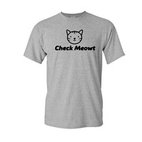 Funny Check Meowt Shirt, Cat Shirt