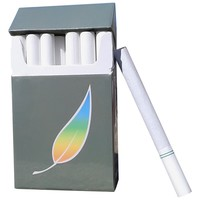 AMERICAN BILLY - Green Tea Herbal Cigarettes, 4 pack Sampler -Non Tobacco - Non Nicotine Cigarette Alternatives - (All 4 packs of Regular flavor)