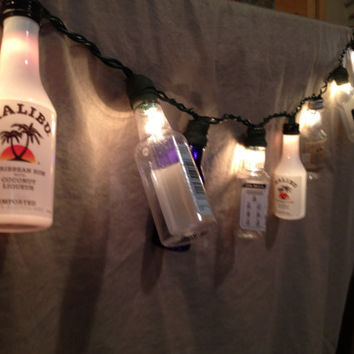 Mini-Liquor Bottle String Lights.