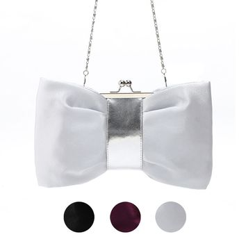 Women Purse Handbag Evening Party Bag Satin Clutch