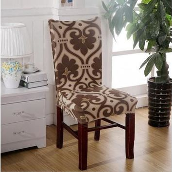 Stretch Banquet Slipcovers Dining Room Wedding Party Short Chair Covers [8323184065]