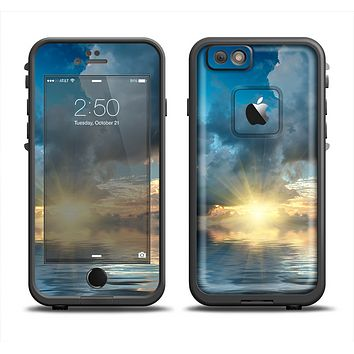 The Calm Ocean Sunset Apple iPhone 6 LifeProof Fre Case Skin Set
