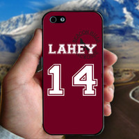 Teen Wolf Lahey 14 Lacrosse Jersey - Print on hard plastic case for iPhone case. Select an option