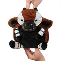 Mini Squishable Okapi: An Adorable Fuzzy Plush to Snurfle and Squeeze!