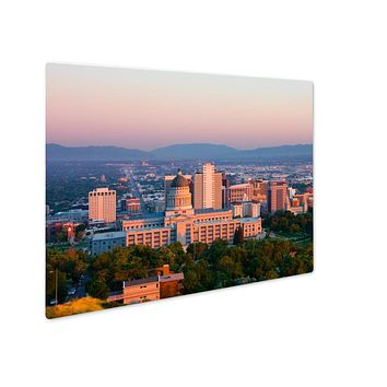 Metal Panel Print, Salt Lake City