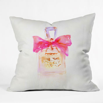 Marta Spendowska Perfume Series Couture Throw Pillow