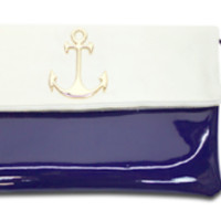 Navy Patent Anchor Clutch