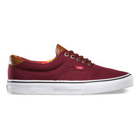 Vans C&L Era 59 Mens Shoes Port Royale/Multi Stripe  In Sizes