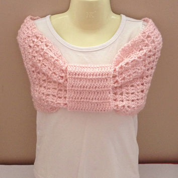 Crochet capelet, poncho, shrug, shoulder shawls, bolero, neckwarmer, infinity scarf, Winter Infinity scarves, Capelet shoulder wraps