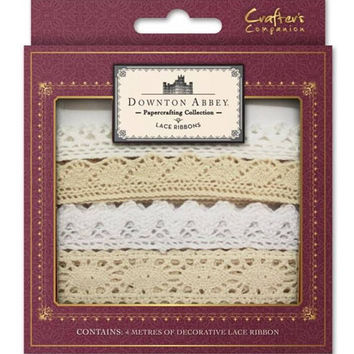 Crafter's Companion | Downton Abbey - Lace Ribbons