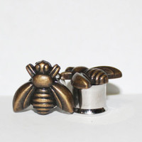 """Bumble Bee Plugs 0G 00G 7/16"""" 8mm 10mm 11mm"""