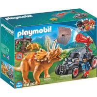 Playmobil 9434 Enemy Quad with Triceratops