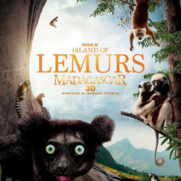 Island of Lemurs: Madagascar IMAX 3D 11x17 Movie Poster (2014)