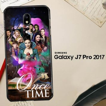 Once Upon A Time E0297 Samsung Galaxy J7 Pro SM J730 Case