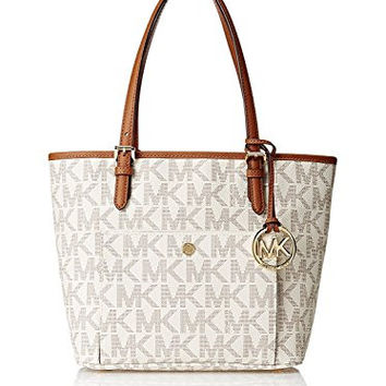 Michael Kors Jet Set Women's Travel Medium Logo Tote Handbag