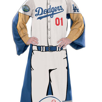 "Los Angeles Dodgers 48""x71"" Comfy Throw - Player Design"