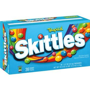 Skittles Tropical Candy (2.17 oz. bags, 36 ct.)