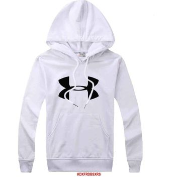 Under Armour Women Men Casual Long Sleeve Top Sweater Hoodie Pullover Sweatshirt-2