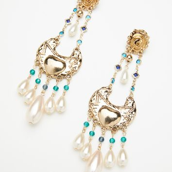 Free People Mirabella Stone Drop Earrings