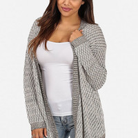 Knitted Trimmed Cardigan