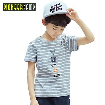 Kids New Summer 4-14Y Kids T shirt Boy T shirt Cotton Children Top fashion t shirts for boys clothes
