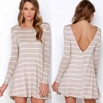 New Fashion Summer Sexy Women Mini Dress Casual Dress for Party and Date = 4723242244