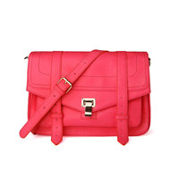 Back to School Peach Color Fashion Cambridge Satchel In Girl Messenger Bags- Free Shipping