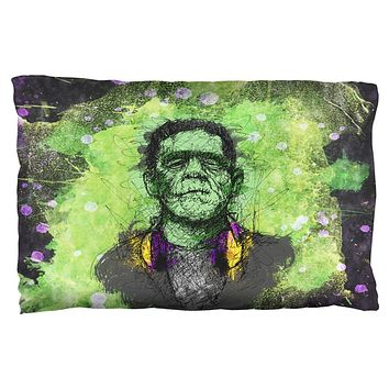Halloween Frankenstein Raver Horror Movie Monster Pillow Case