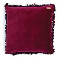 Cherry Velvet Tassel Cushion Cover by Kip & Co | Homewares | Boutique Bedding - Hunters and Gatherers