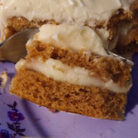 Spice Cake With Cream Cheese Icing
