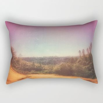 Life Waits for Noone Rectangular Pillow by Ducky B