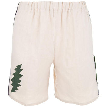 Grateful Dead - Lightning Bolt Natural Toddler Shorts