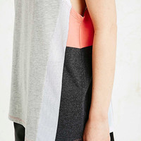 Sparkle & Fade Sporty Tank in Grey - Urban Outfitters