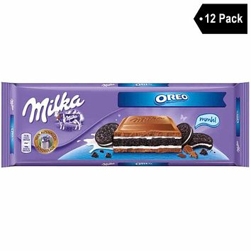 12 Pack Milka Large Oreo Chocolate (10.5 oz. x 12)