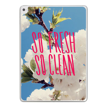 So Fresh So Clean iPad Tablet Skin