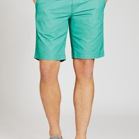Washed Chino Short - Green - 9 in
