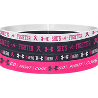 Under Armour Headbands - Pink Ribbon | Under Armour Volleyball Headbands