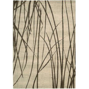 Calvin Klein Home Rug Collection CK14 Woven Textures Willow Branch Rug